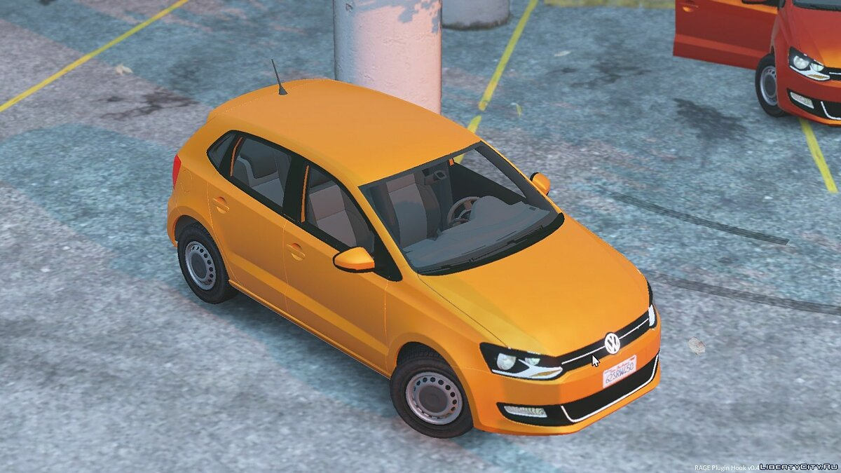 2011 Volkswagen Polo 5-Door для GTA 5 - скриншот #4