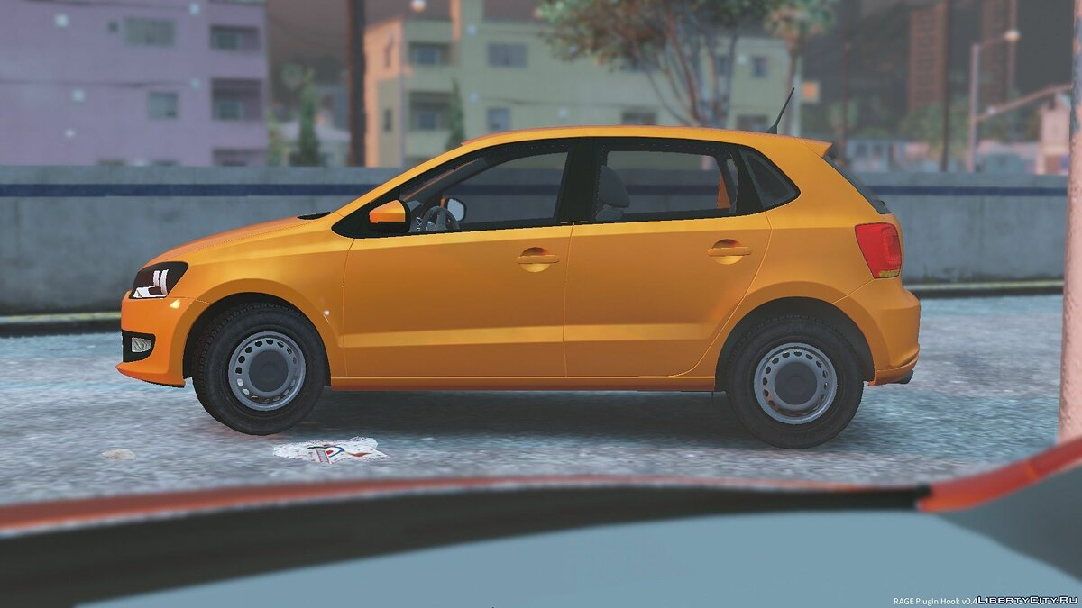 2011 Volkswagen Polo 5-Door для GTA 5 - скриншот #5