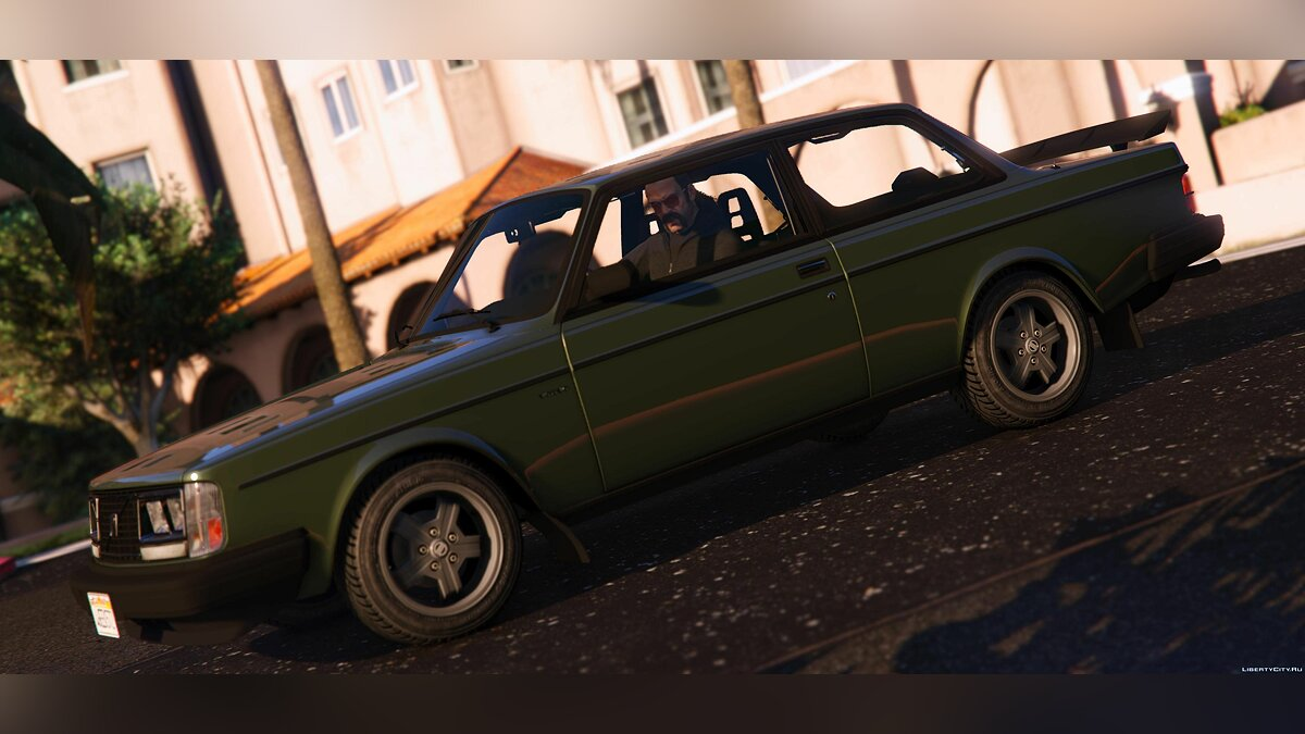 Машина Volvo 1983 Volvo 242 Turbo [Tuning | Add-On / Replace | Template] 1.1 для GTA 5