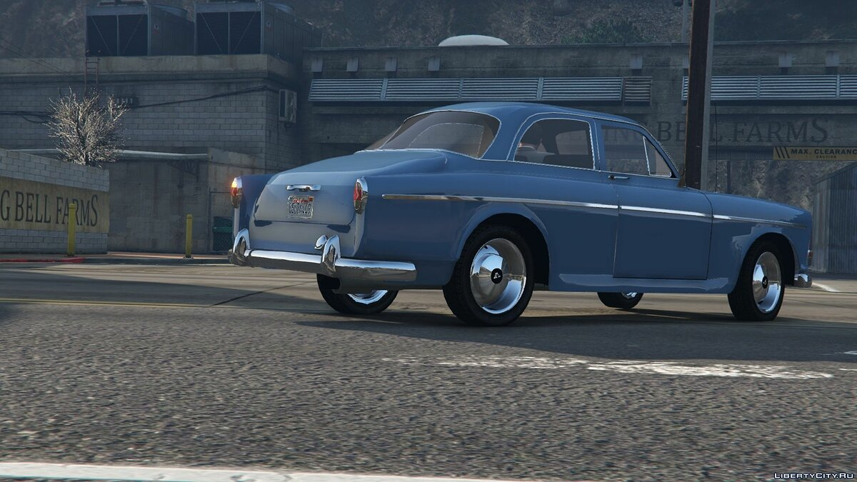 Машина Volvo Volvo Amazon (P120) [Replace] для GTA 5