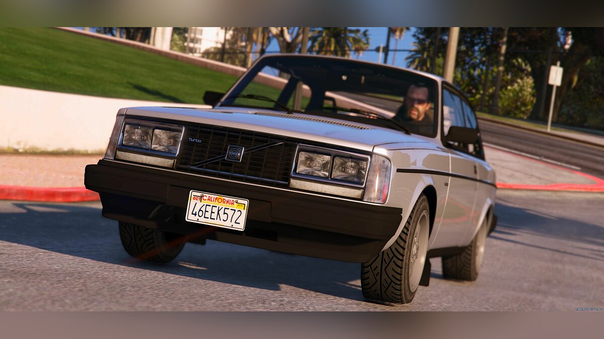 Машина Volvo 1983 Volvo 242 Turbo [HQ | Add-On | Template] 1.0 для GTA 5