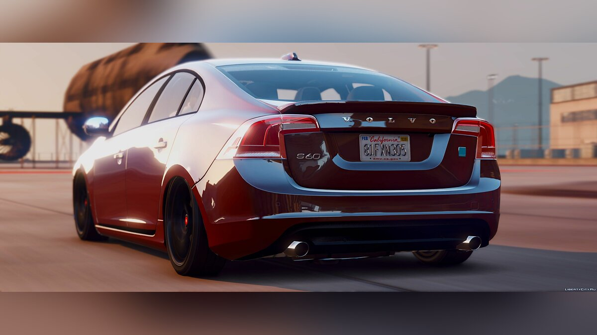 Машина Volvo 2015 Volvo S60 Polestar [Add-On / Replace | Analog / Digital Dials] 1.2 для GTA 5