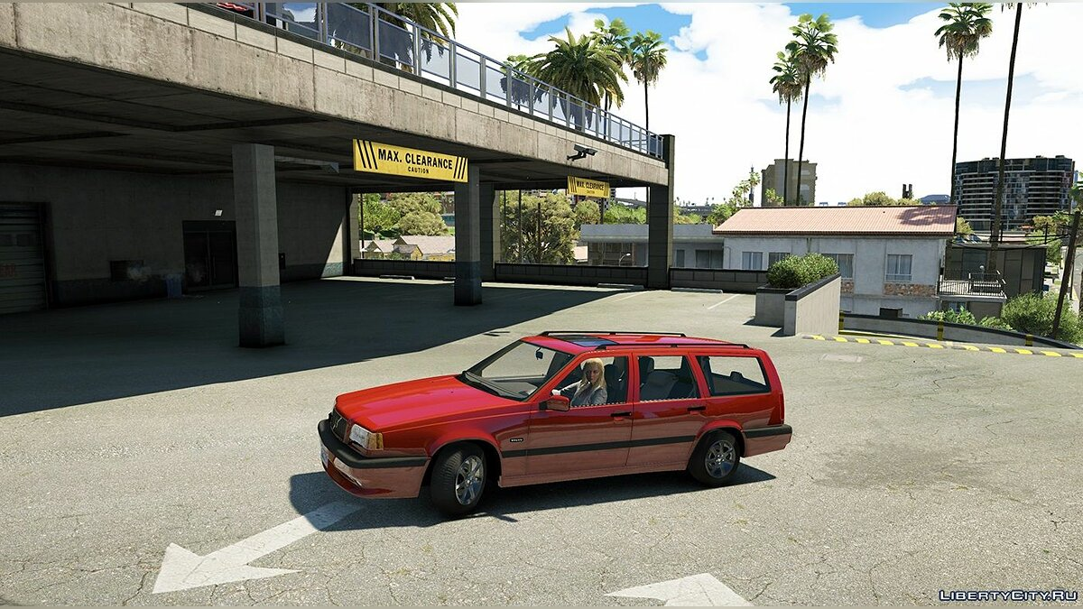 Машина Volvo Volvo 850R [Add-On|Replace|Wipers|Animated] 1.0 для GTA 5