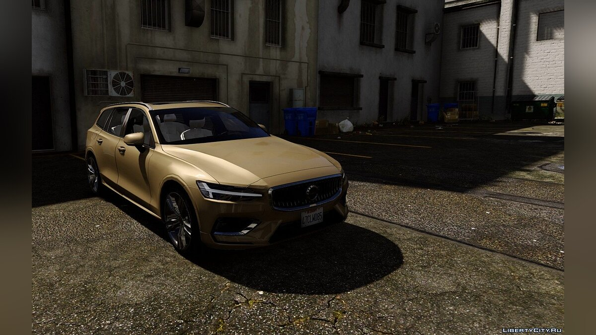 Машина Volvo Volvo V60 2018 [Add-On / Replace] 1.0 для GTA 5