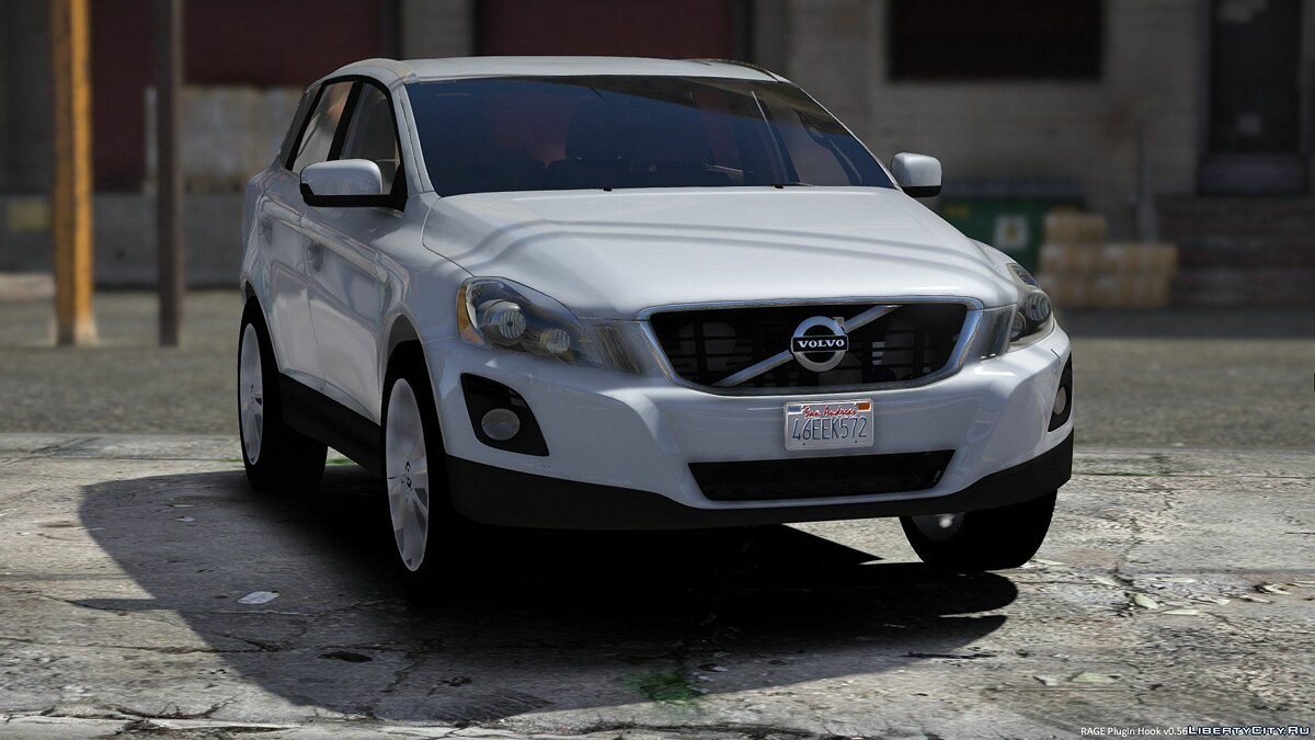 Машина Volvo 2009 Volvo XC60 - DEV Version UNLOCKED для GTA 5