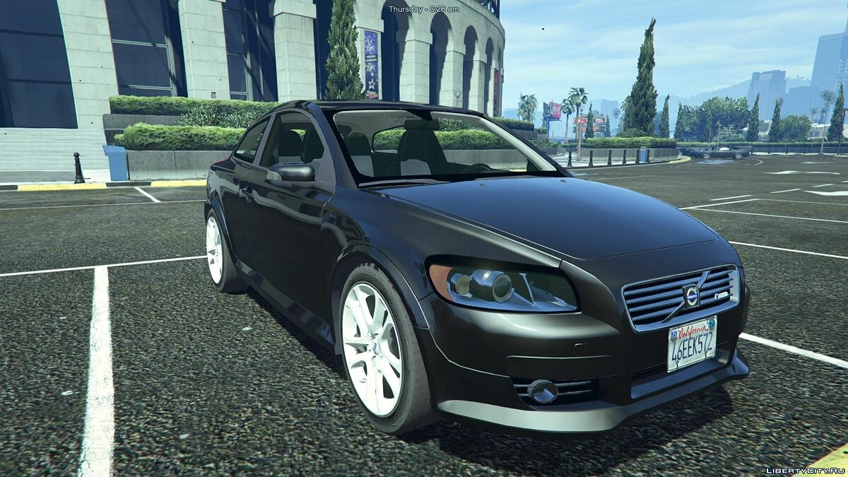 Volvo C30 R-Design [Add-On / Replace] 1.0 для GTA 5 - скриншот #3