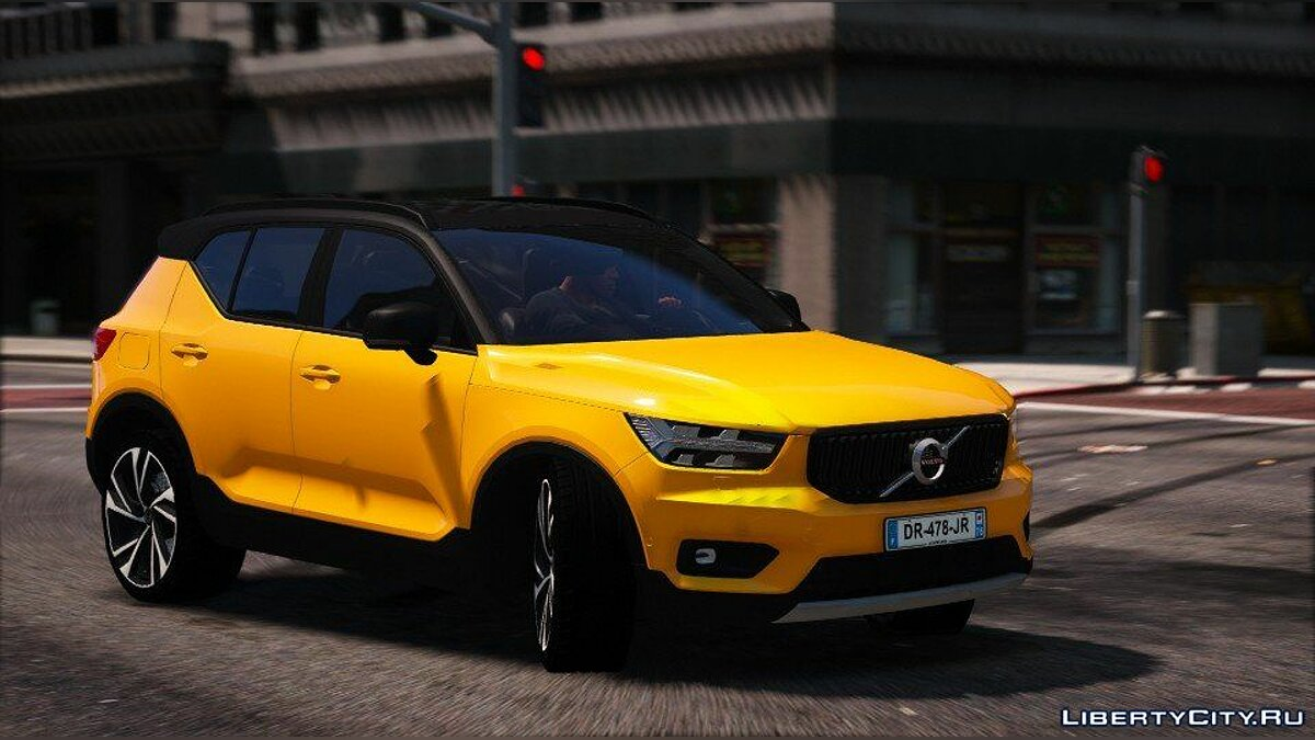 Машина Volvo Volvo XC40 2018 (Add-on) 1.0 для GTA 5