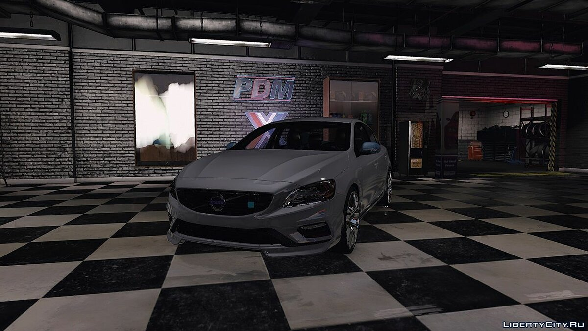 Машина Volvo 2015 Volvo S60 Polestar (Replace/Analog & Digital Dials) 1.0 для GTA 5