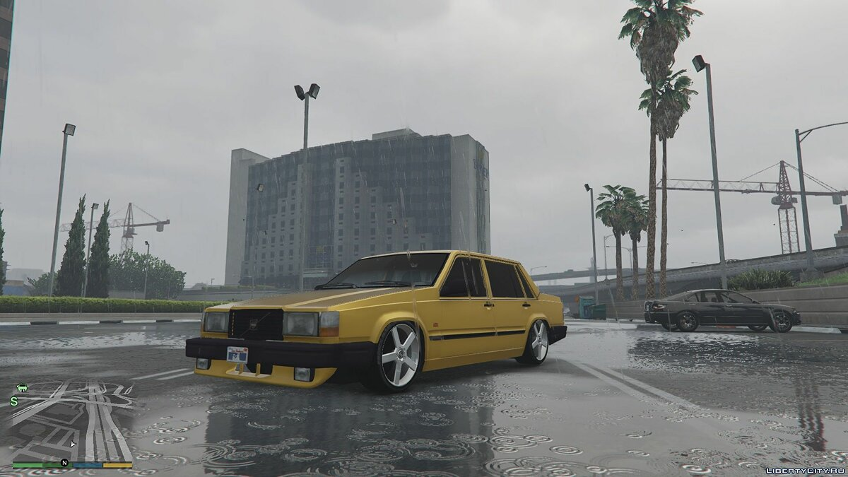 Машина Volvo Volvo 740 [Replace] 1.0 BETA для GTA 5