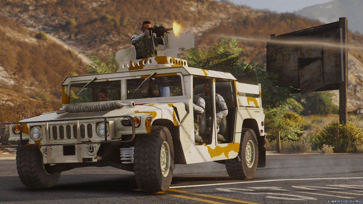 M1043 Special Forces Humvee [Add-On] 1.1 для GTA 5