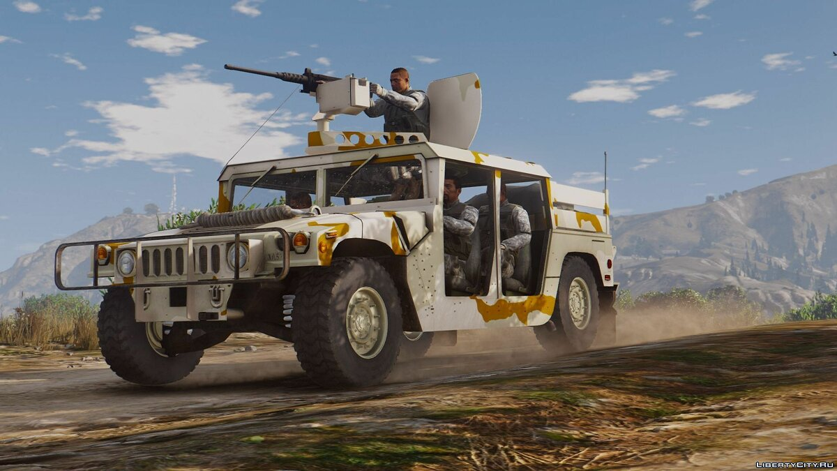 M1043 Special Forces Humvee [Add-On] 1.1 для GTA 5 - скриншот #4