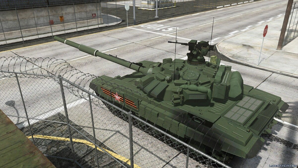 Военная машина Tank T-90A Prepared for the Victory Day parade on May 9 [Add-On] 1.0 для GTA 5
