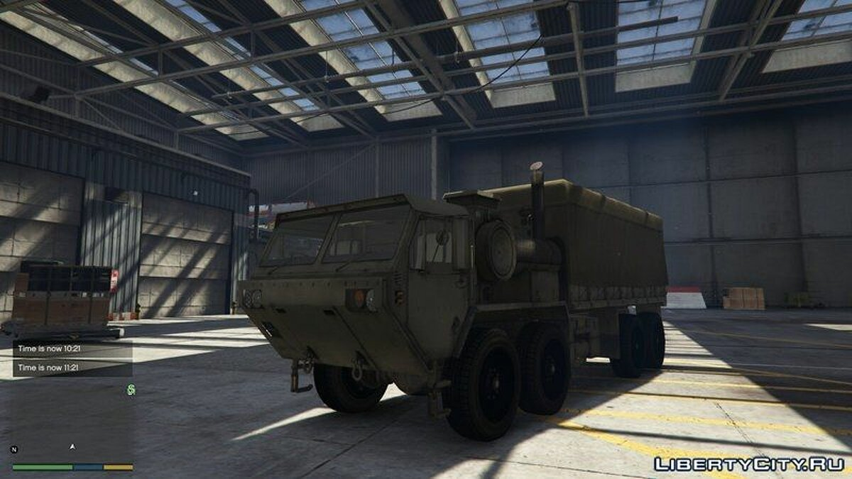 Heavy Expanded Mobility Tactical Truck для GTA 5 - скриншот #2