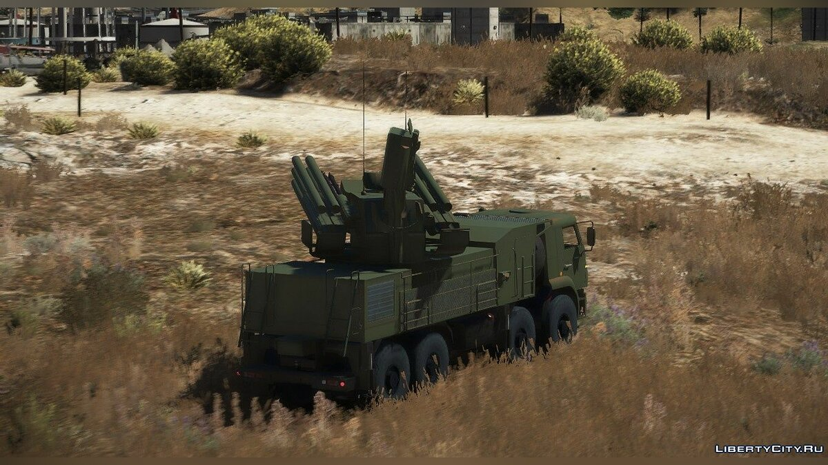 Военная машина KAMAZ-6560 Pantsir-S1 [Add-on] - КамАЗ-6560 Панцирь-С1 для GTA 5