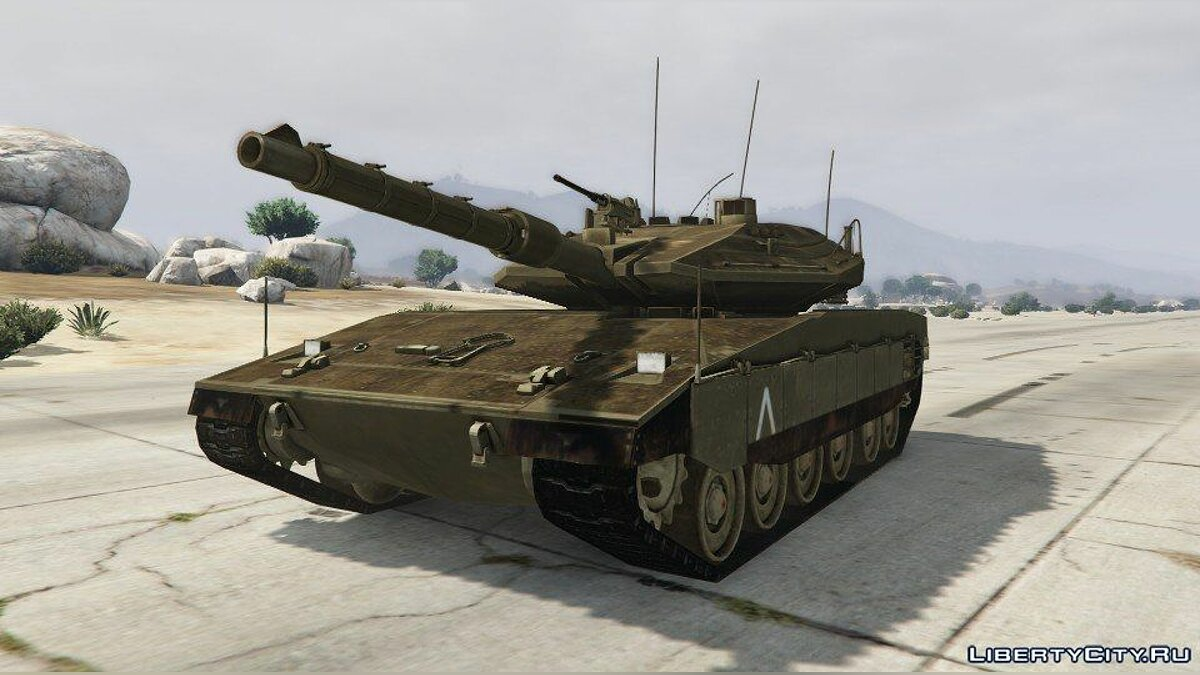 Merkava IV [Add-On] для GTA 5