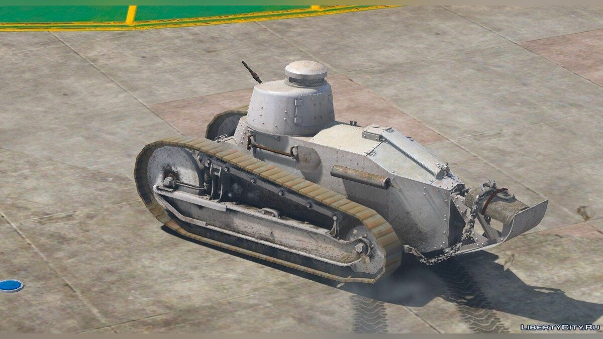 ��оенная машина Renault FT-17 [Replace] 1.0 для GTA 5
