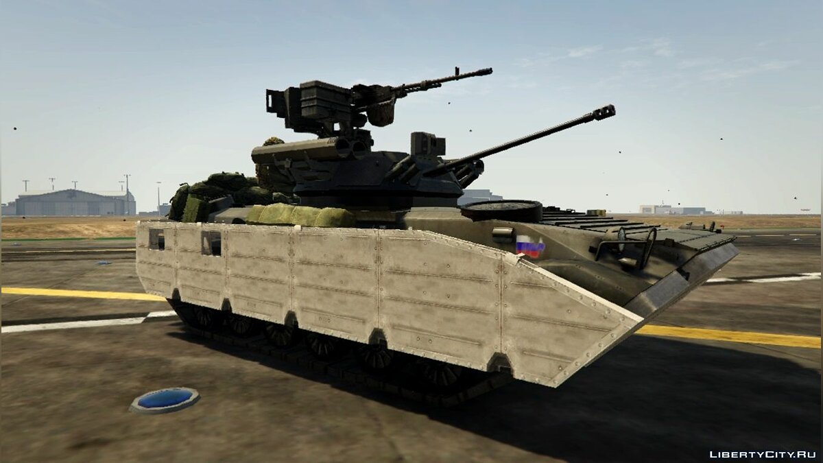 Battlefield 4 Add-On Vehicles Pack 1.1 для GTA 5 - скриншот #4