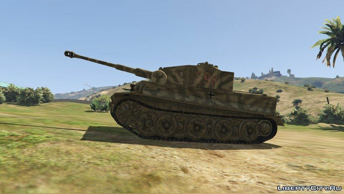 Tiger I (World War II Tank) [Add-On] для GTA 5 - скриншот #2