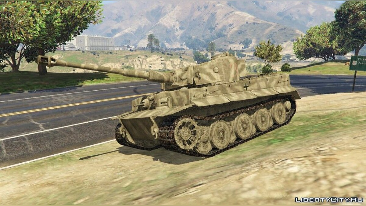 Tiger I (World War II Tank) [Add-On] для GTA 5