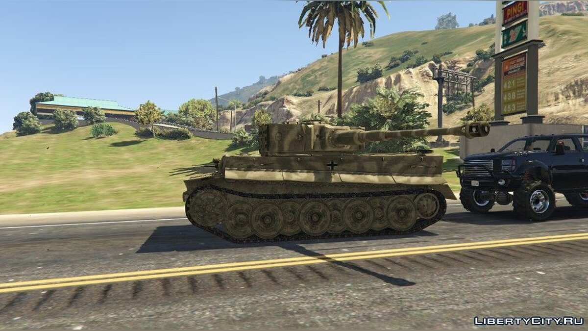 Tiger I (World War II Tank) [Add-On] для GTA 5 - скриншот #3