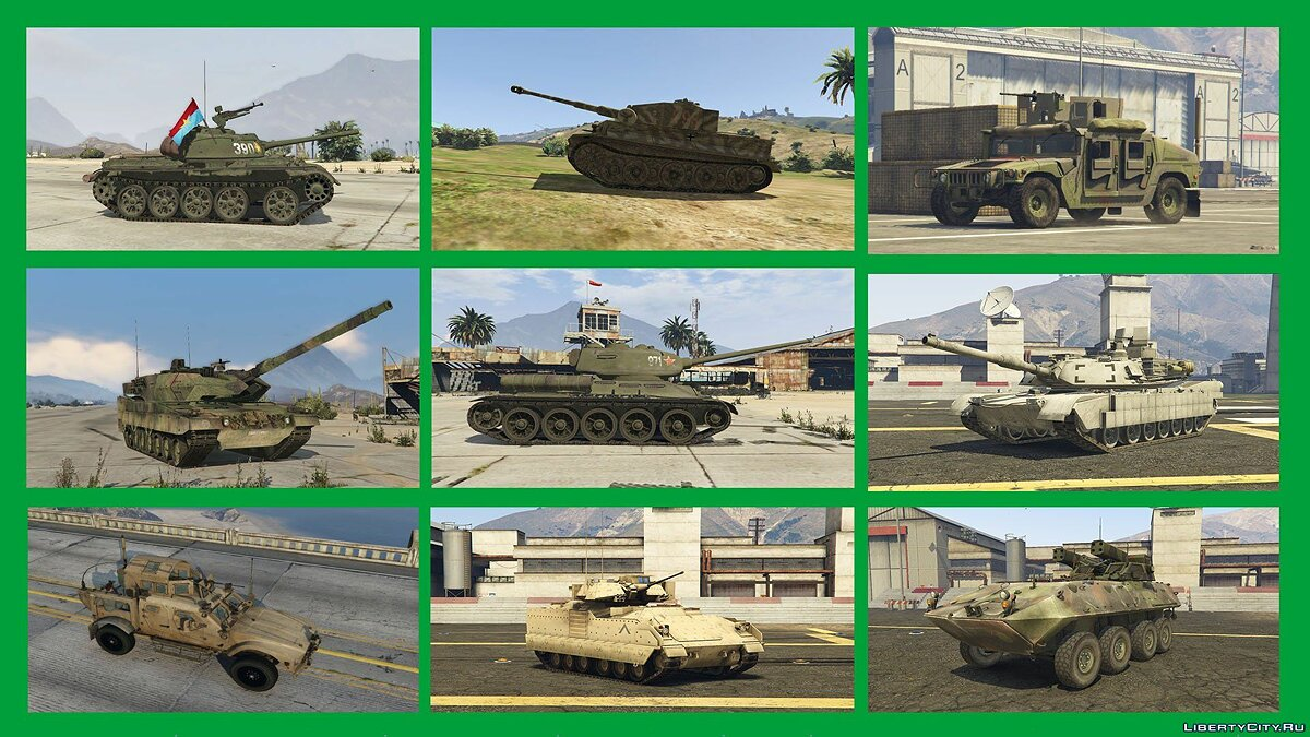War Pack: Armored Vehicles (Add-On) 3.0 для GTA 5 - скриншот #4
