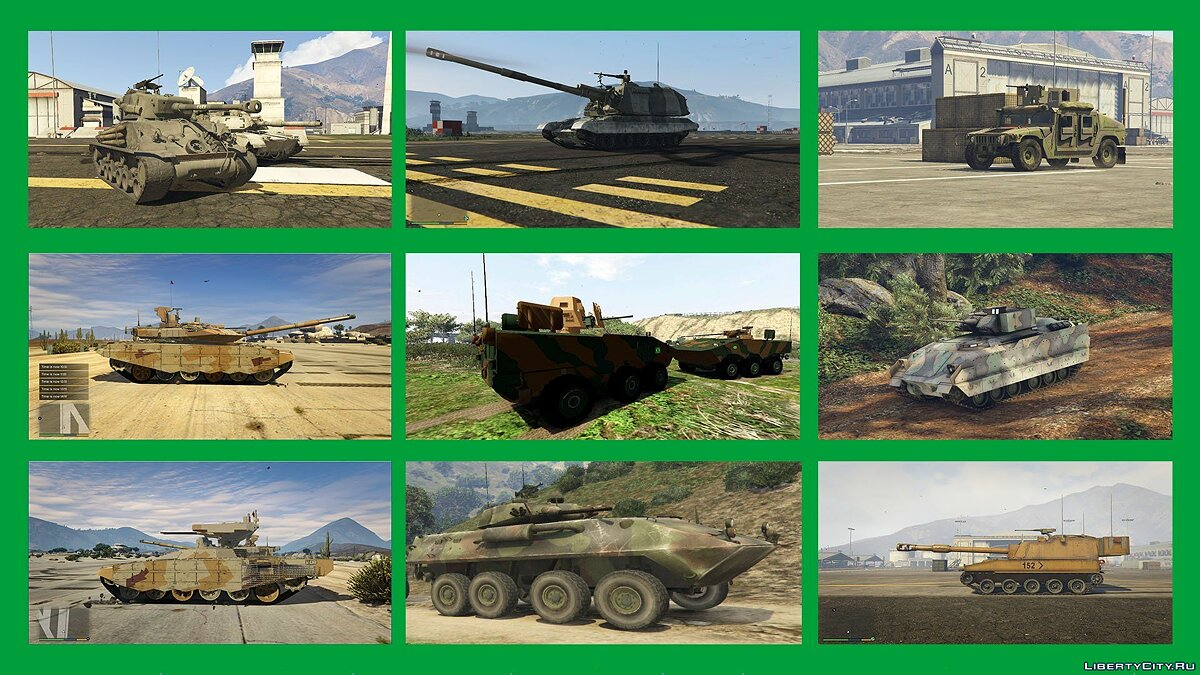 War Pack: Armored Vehicles (Add-On) 3.0 для GTA 5 - скриншот #9