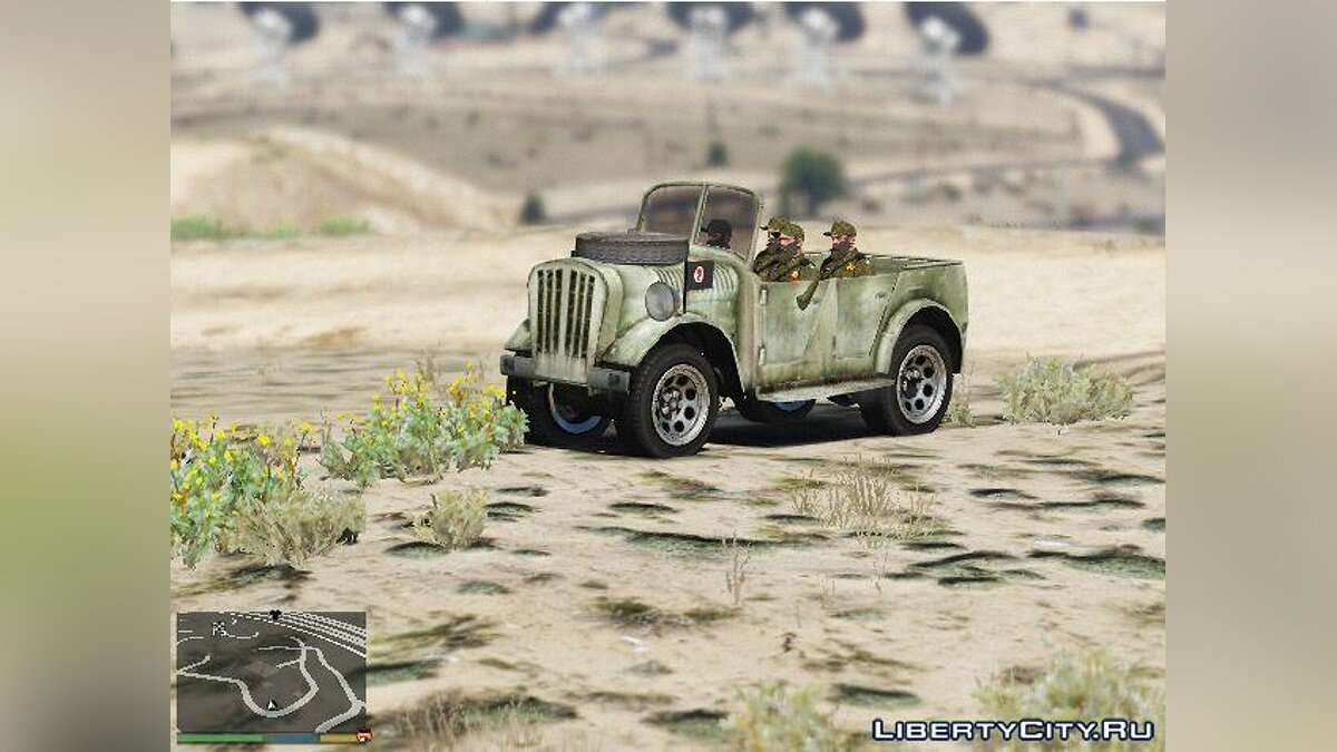 World War II Jeep для GTA 5 - скриншот #2