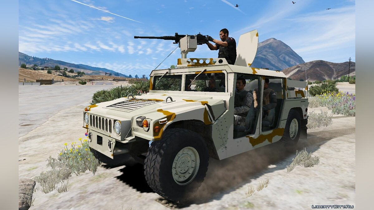 Военная машина M1043 Special Forces Humvee [Replace] V1.0 для GTA 5