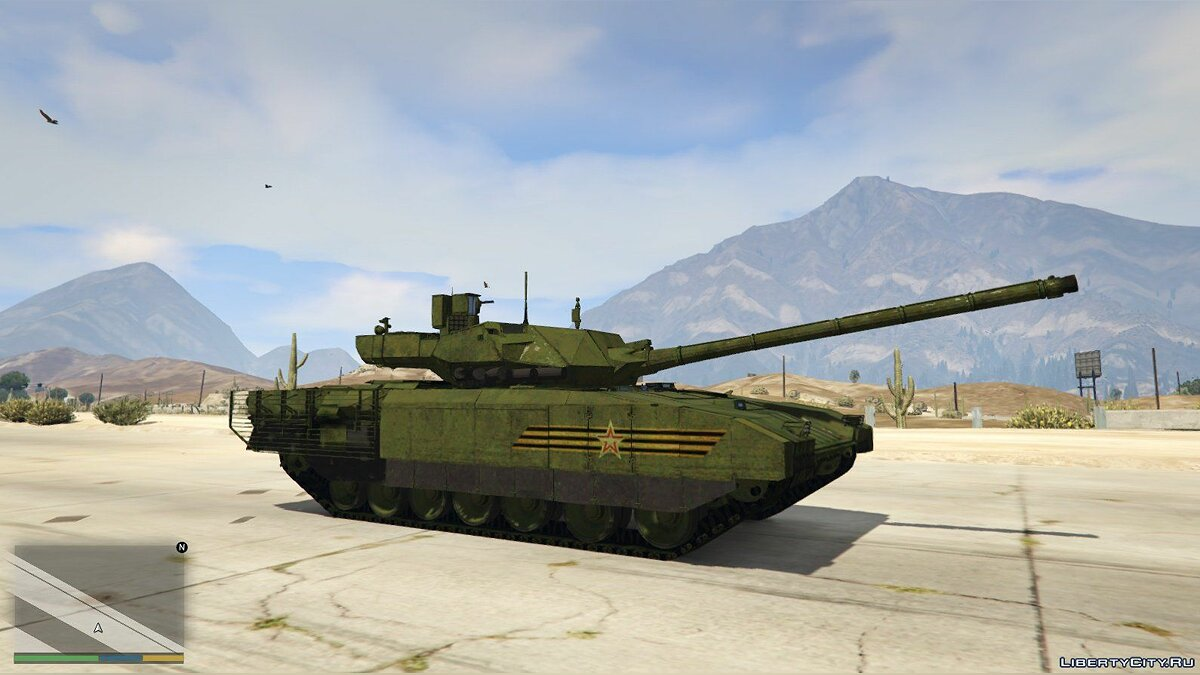 T-14 Armata [Add-On] 2.1 для GTA 5 - скриншот #4