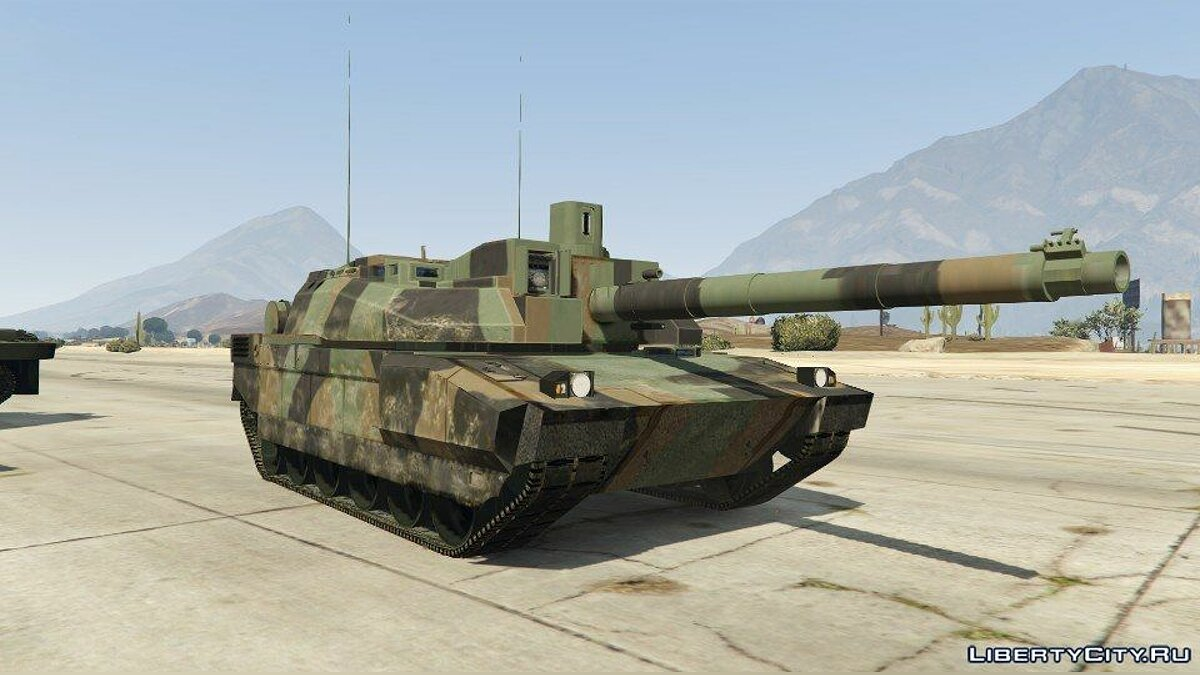 AMX-56 LeClerc [Add-On] для GTA 5