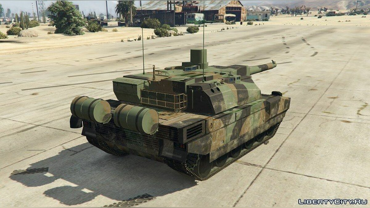 AMX-56 LeClerc [Add-On] для GTA 5 - скриншот #3