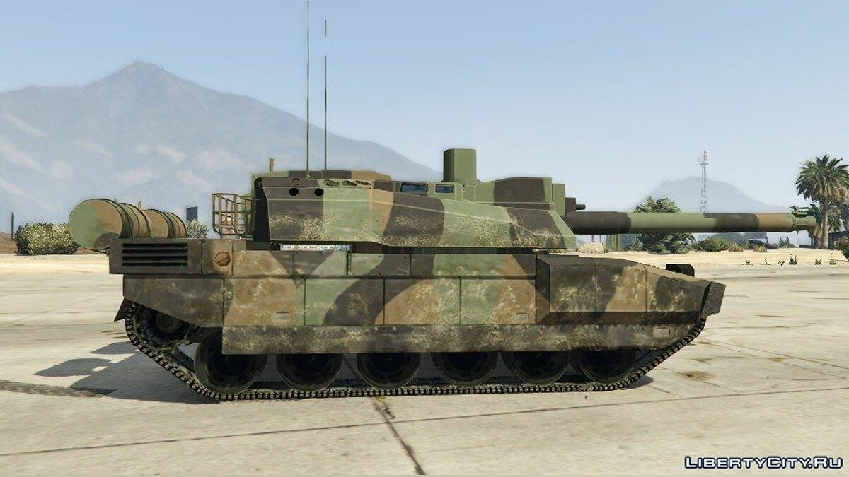 AMX-56 LeClerc [Add-On] для GTA 5 - скриншот #2