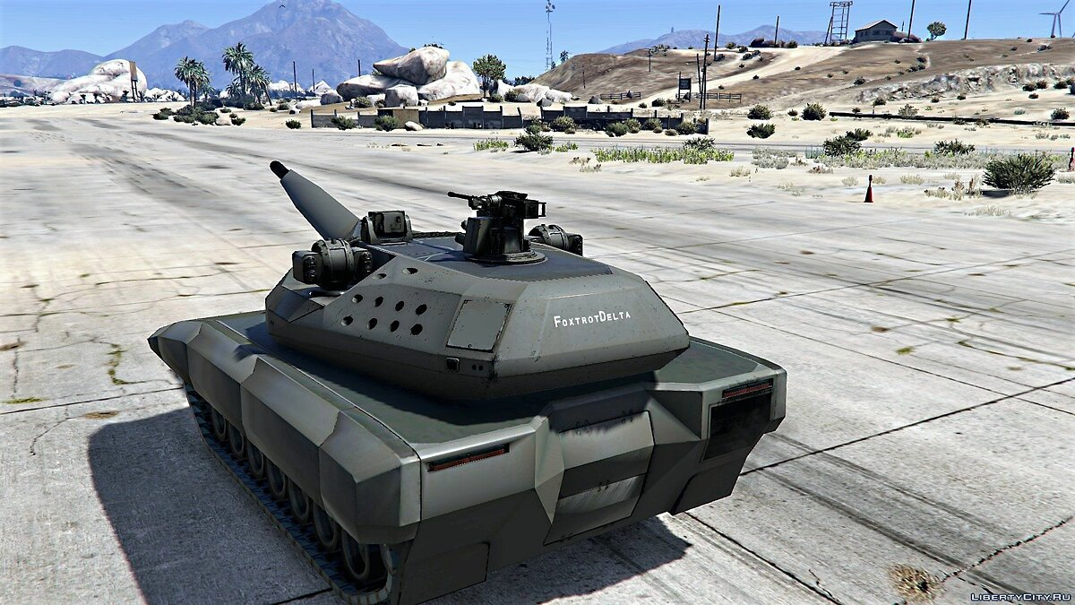 PL-01 Future MBT [Add-On / Replace | HQ] 1.1 для GTA 5