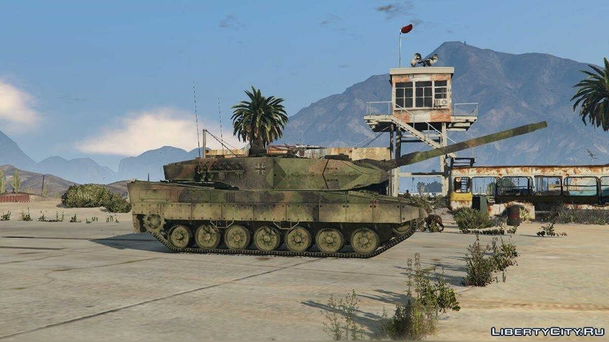 Leopard 2A6 [Add-On] для GTA 5 - скриншот #3