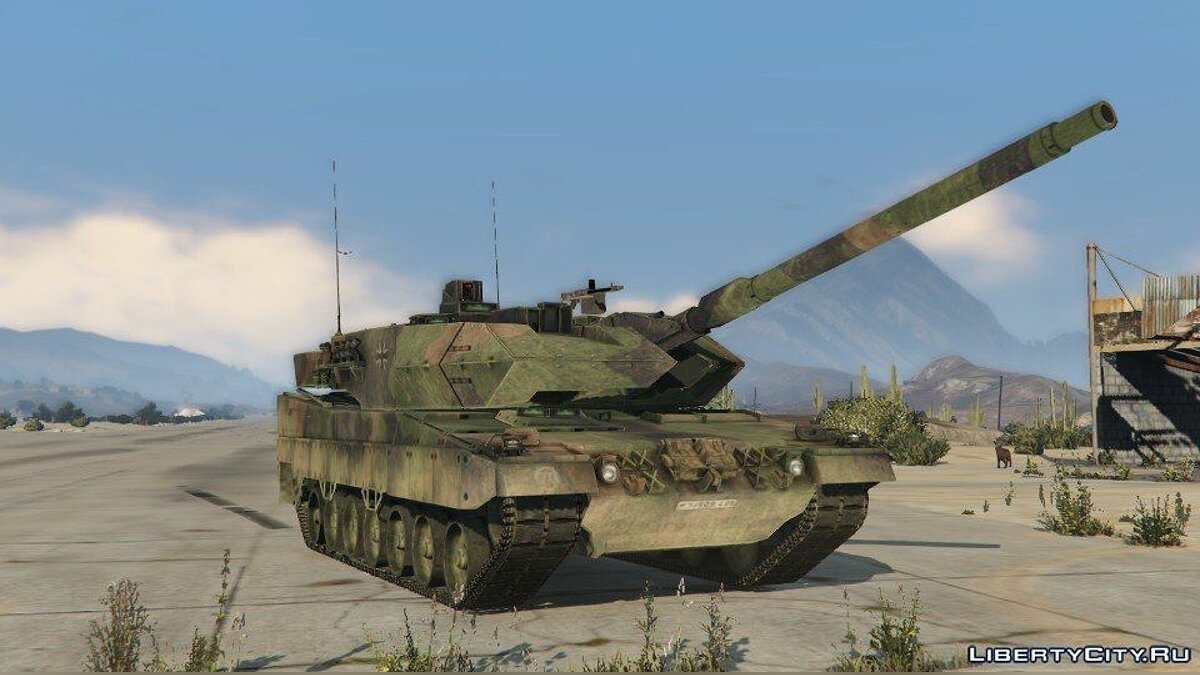 Leopard 2A6 [Add-On] для GTA 5