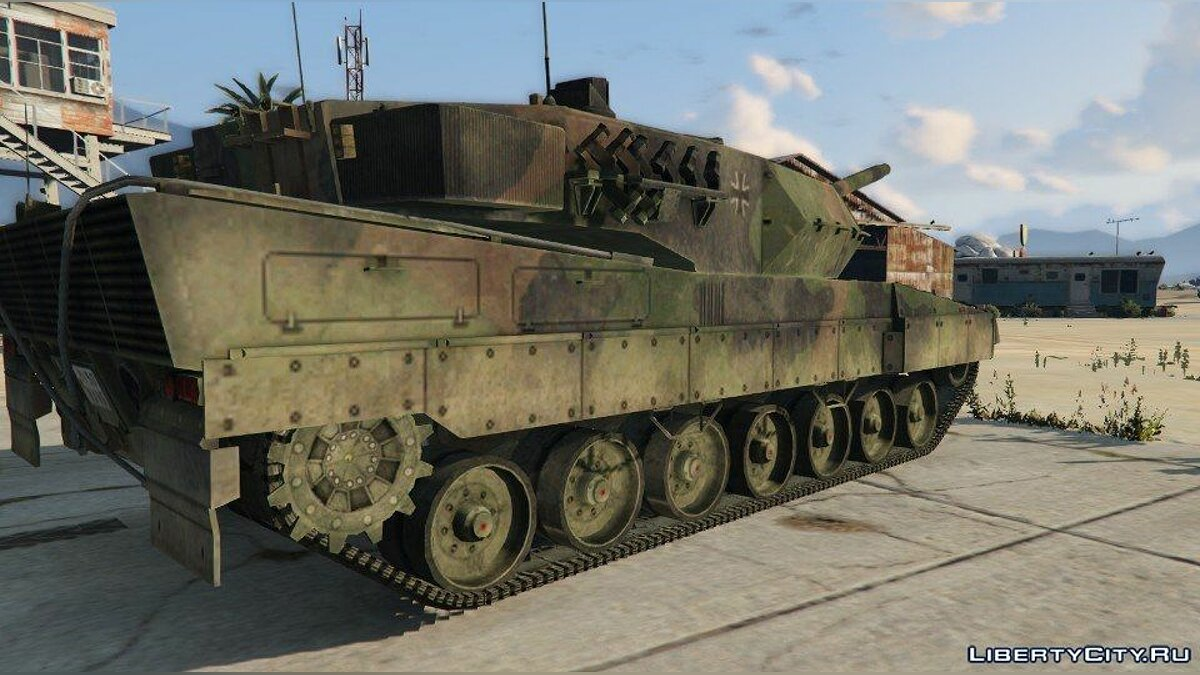 Leopard 2A6 [Add-On] для GTA 5 - скриншот #2