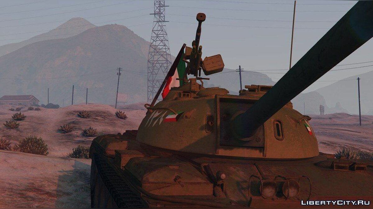 ��оенная машина 1990 Kuwait Tank [Add-On] 1.0 для GTA 5
