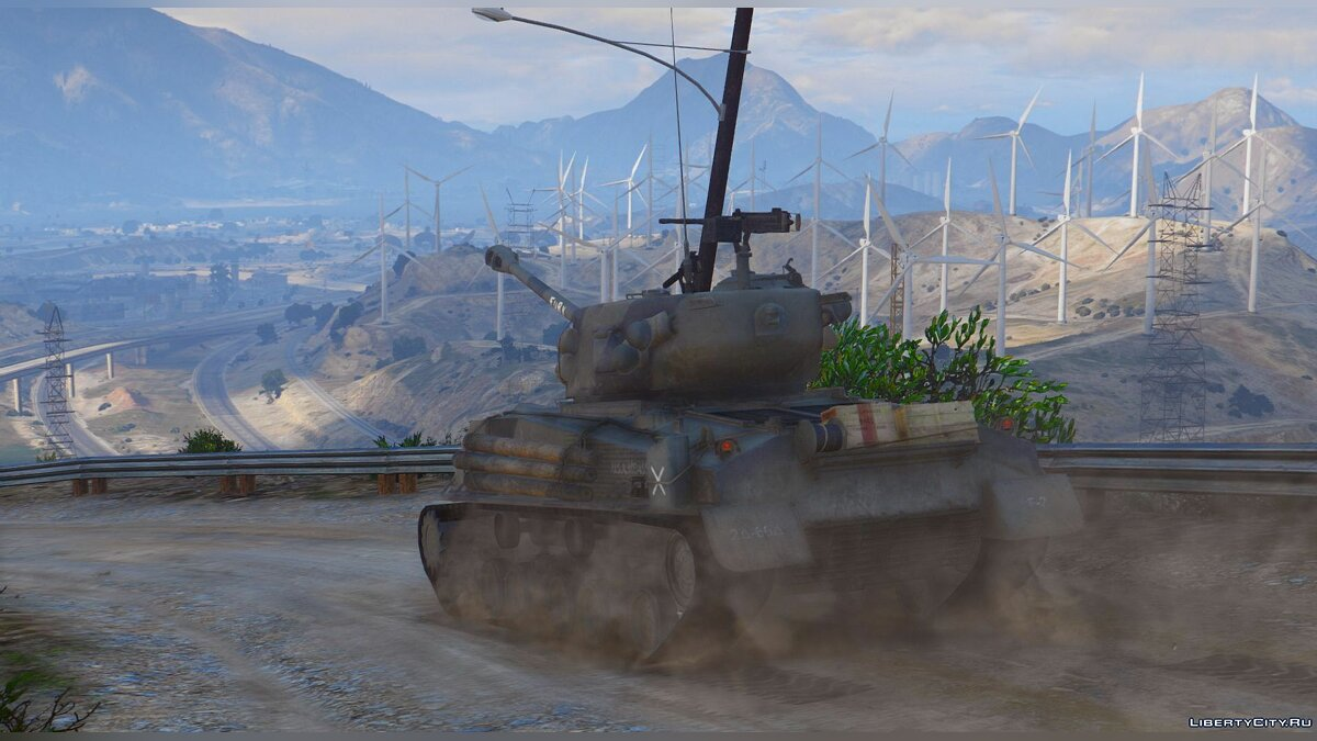 "M4A3E8 Sherman ""Fury"" 1.1 для GTA 5 - скриншот #2"
