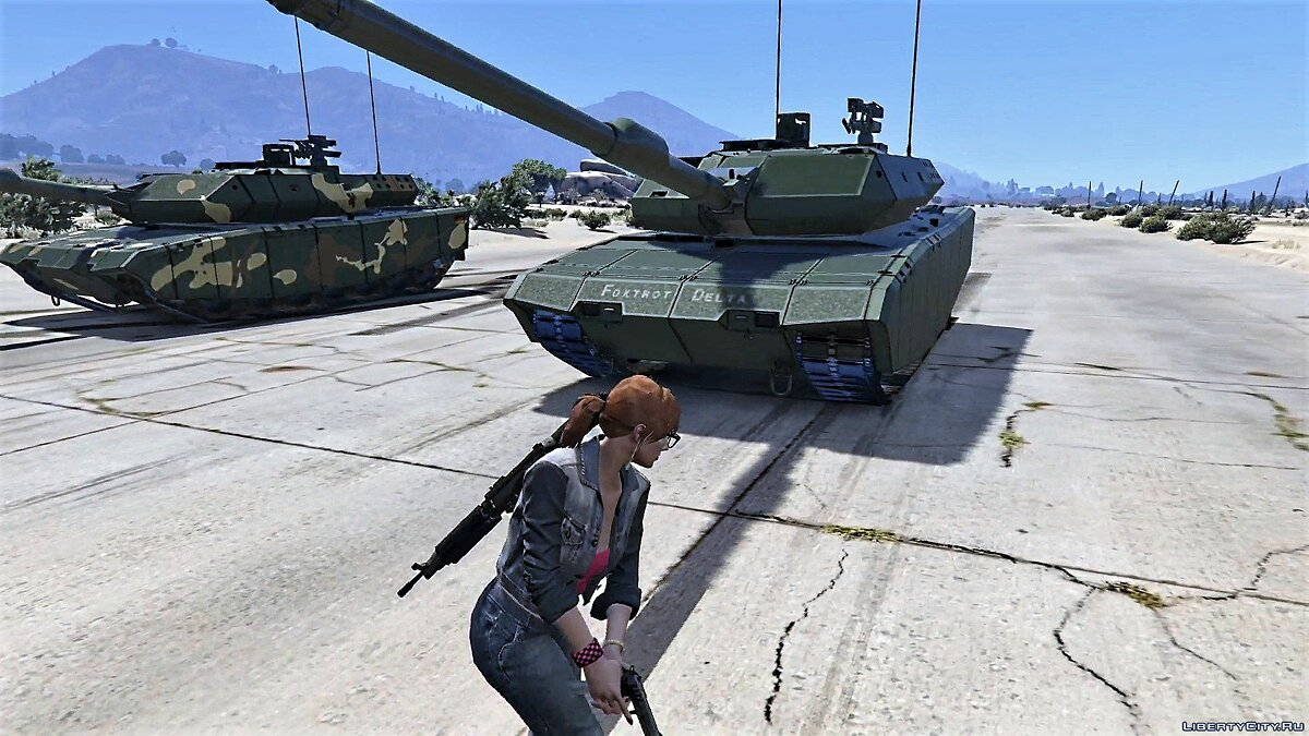 Leopard 2A7+ MBT [Add-On / Replace | HQ] 1.1 для GTA 5