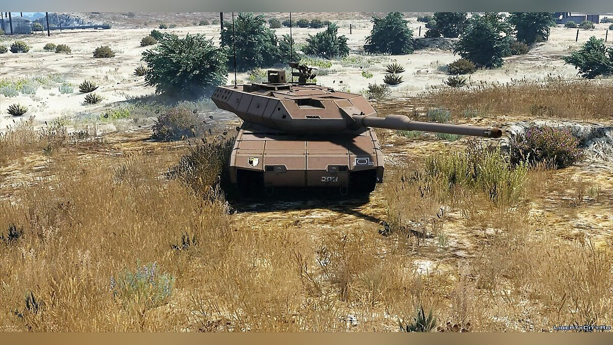 Leopard 2A7+ MBT [Add-On / Replace | HQ] 1.1 для GTA 5 - скриншот #2