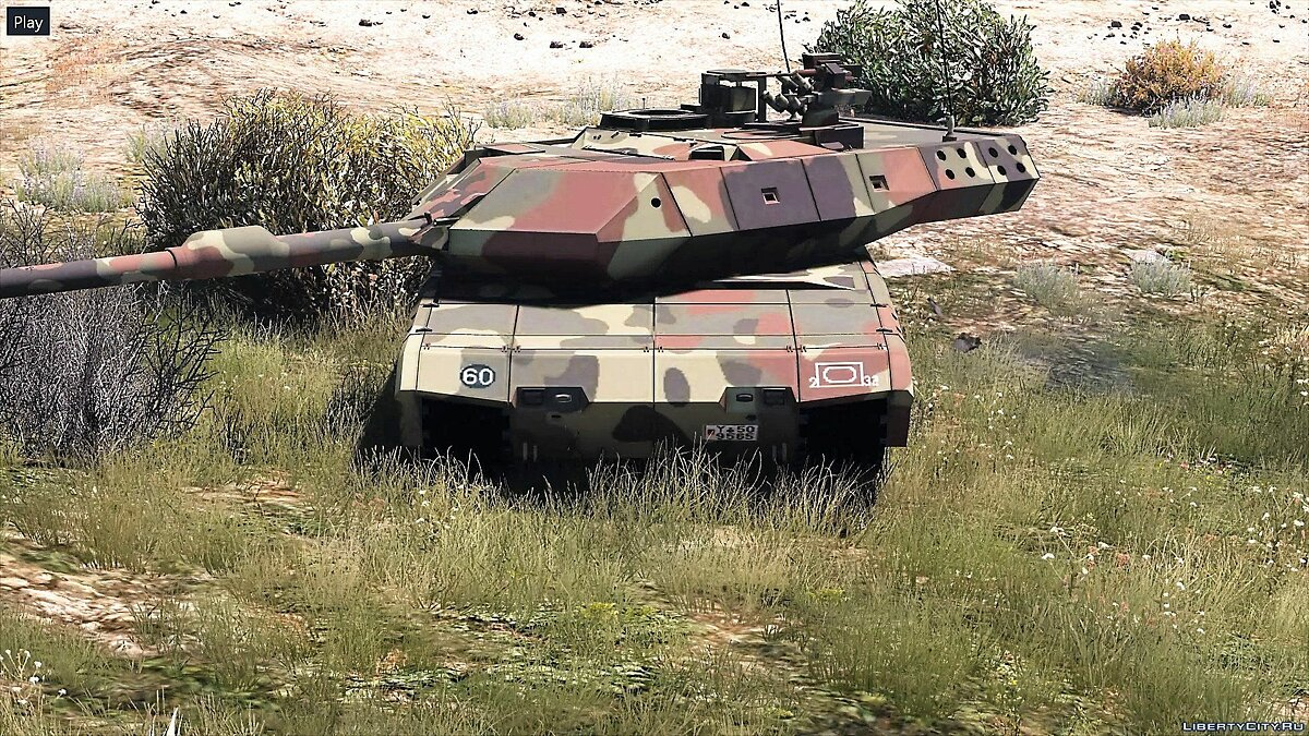 Leopard 2A7+ MBT [Add-On / Replace | HQ] 1.1 для GTA 5 - скриншот #3