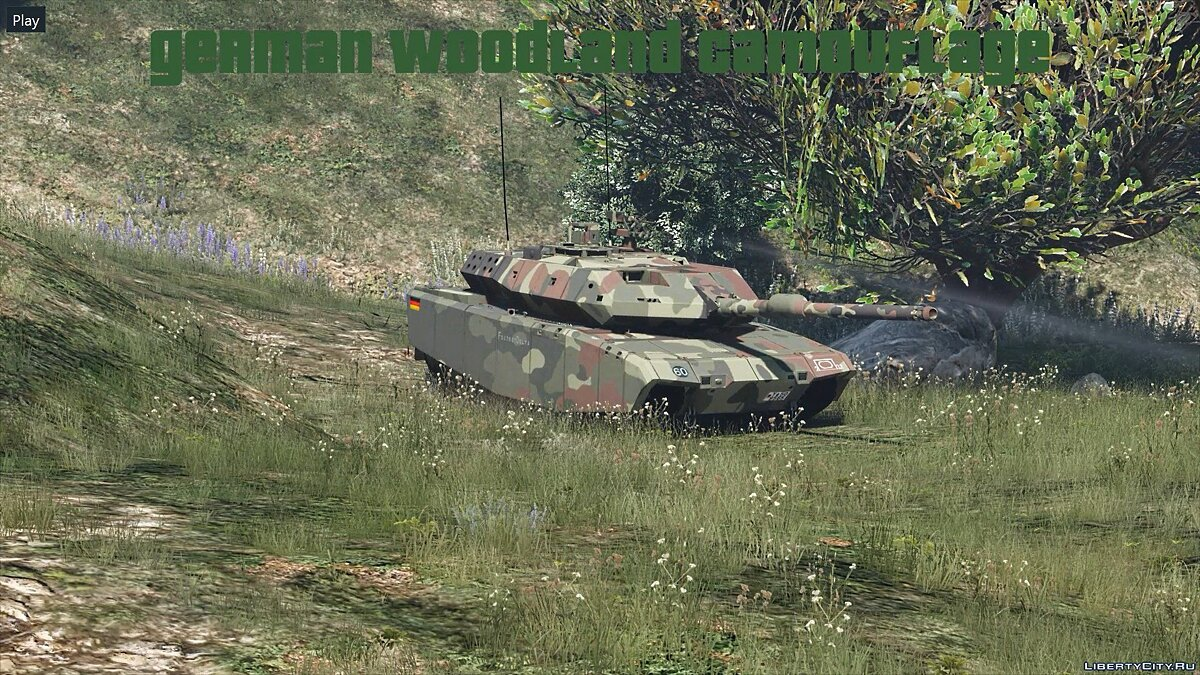 Leopard 2A7+ MBT [Add-On / Replace | HQ] 1.1 для GTA 5 - скриншот #4