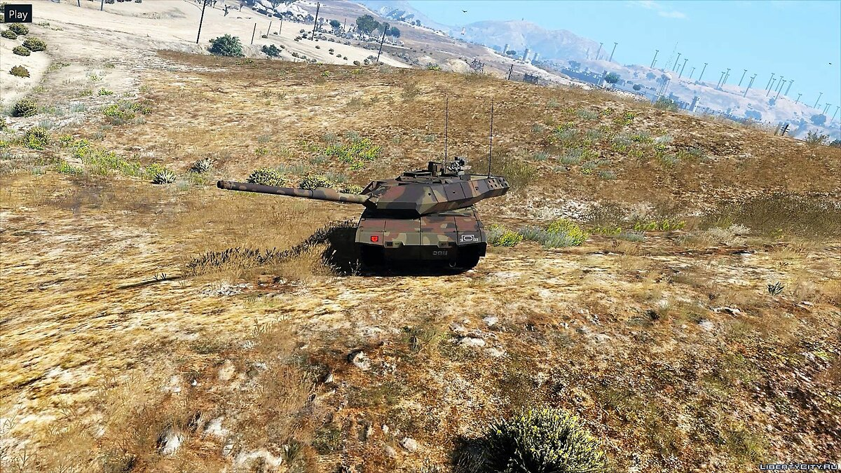 Leopard 2A7+ MBT [Add-On / Replace | HQ] 1.1 для GTA 5 - скриншот #5