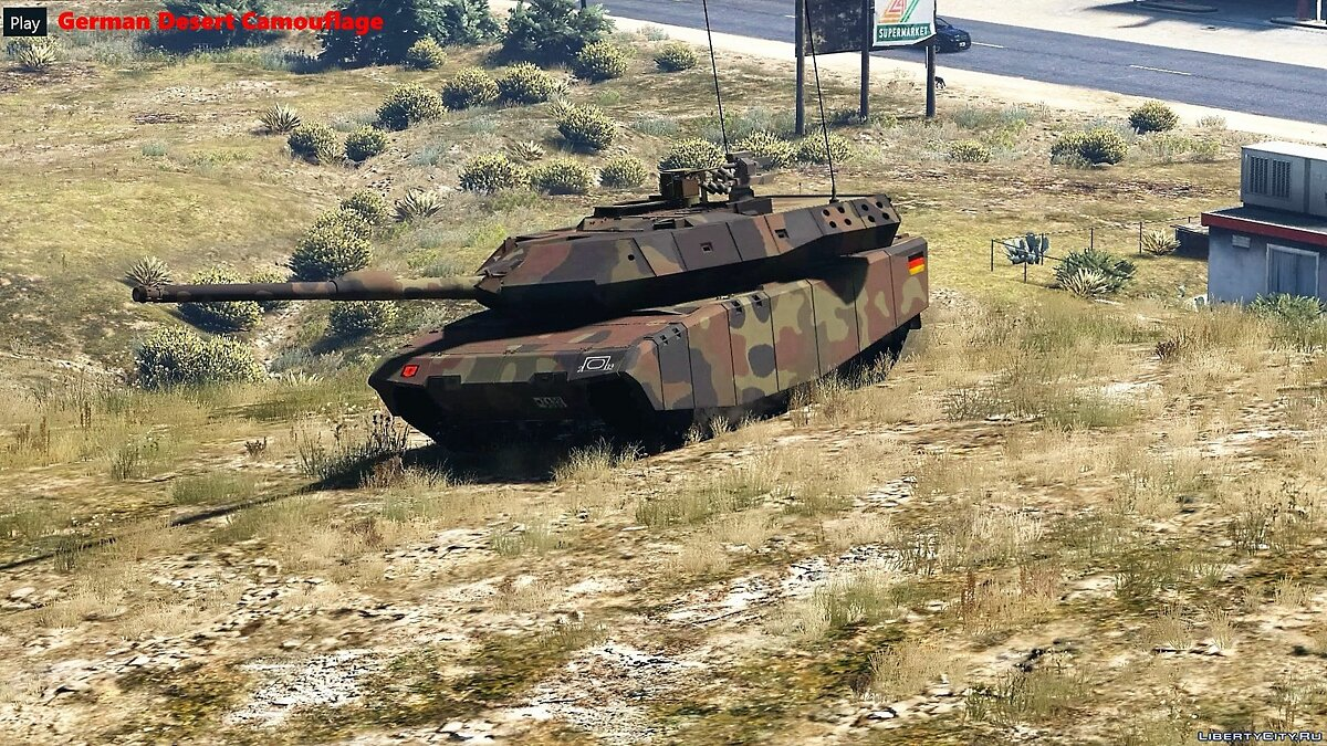 Leopard 2A7+ MBT [Add-On / Replace | HQ] 1.1 для GTA 5 - скриншот #6