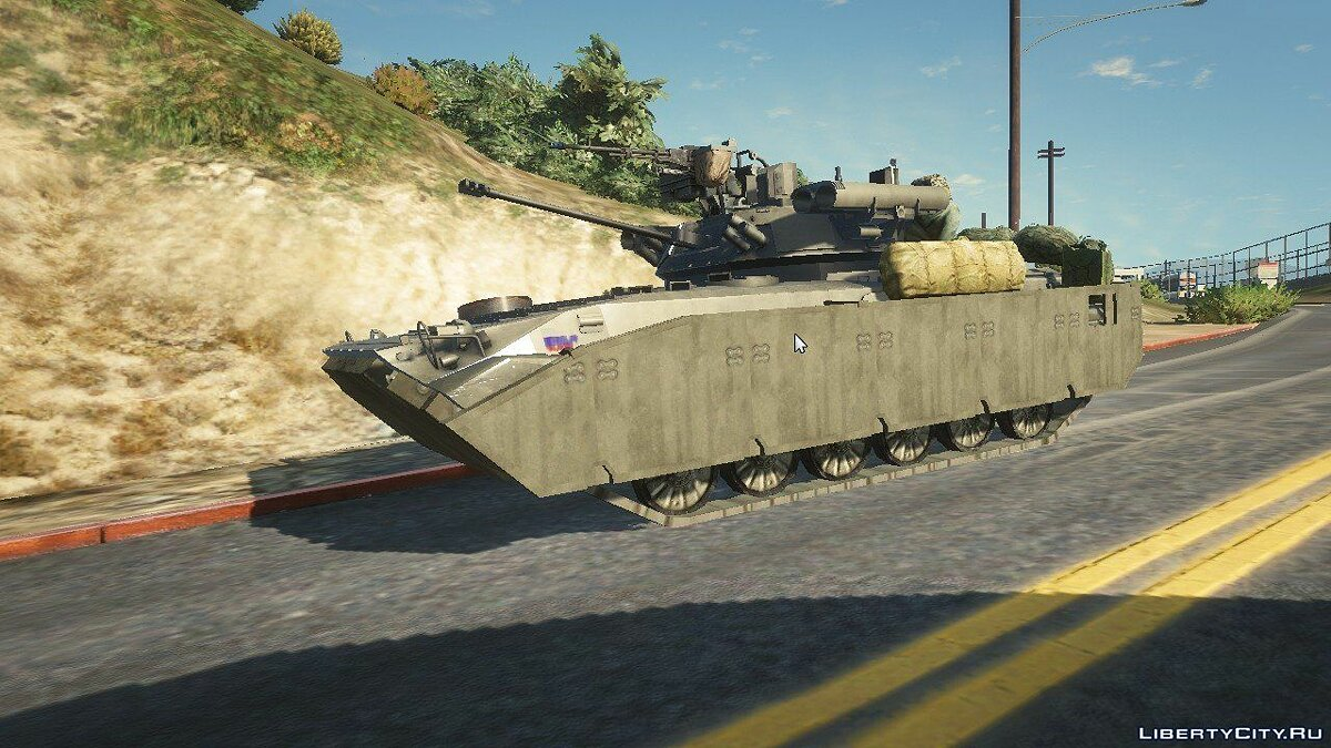 BMP-2 [Replace] 1.1 для GTA 5 - скриншот #2