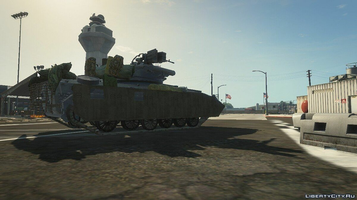 BMP-2 [Replace] 1.1 для GTA 5 - скриншот #3