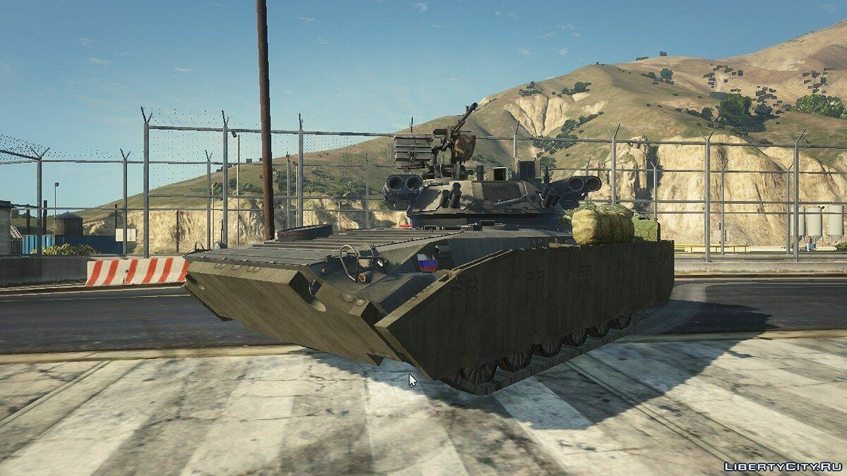 BMP-2 [Replace] 1.1 для GTA 5 - скриншот #4