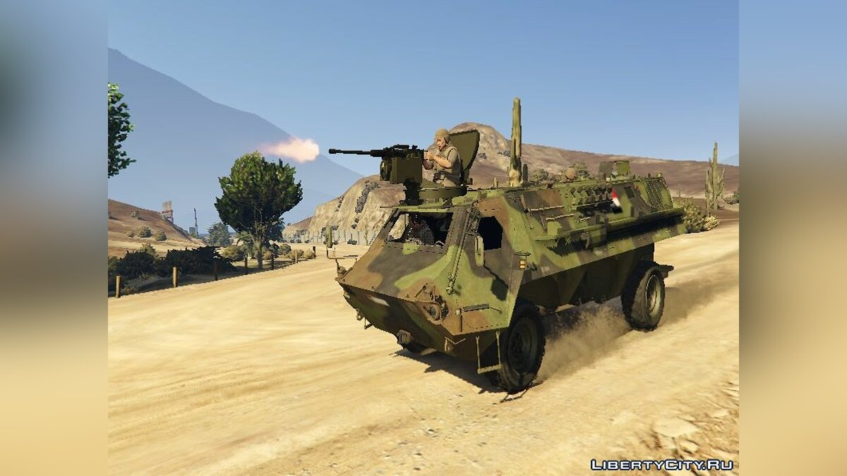 ��оенная машина Egyptian APC Fahd (Replace) 1.0 для GTA 5