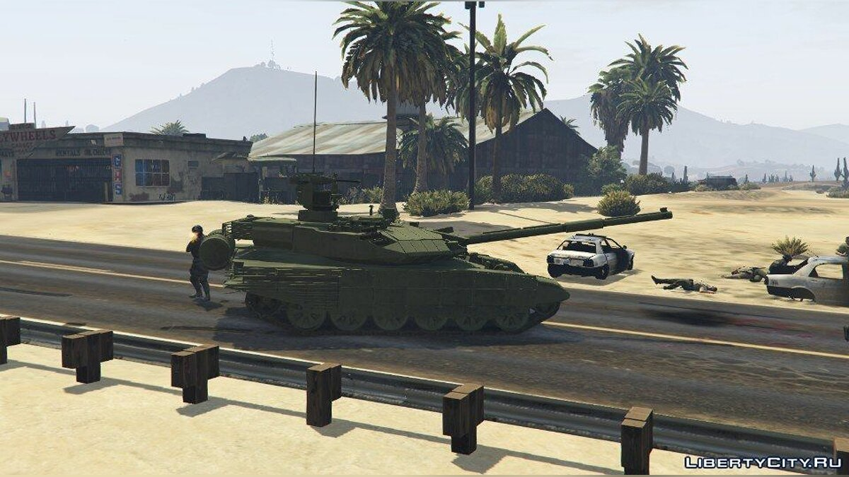T-90MS [Add-On] для GTA 5 - Картинка #1