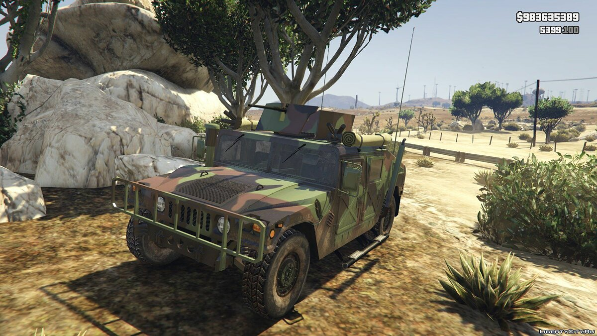 HMMWV M966 [Add-On] для GTA 5